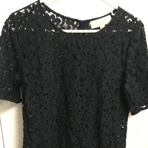 Lace Woven short sleeve